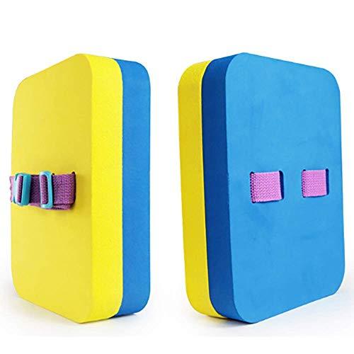 HWHSZ Auftrieb ZurüCk Drift Board Wasser Board ZurüCk Float Board Schwimmen Kick Board Leichte Schwimmende Und UndurchläSsige Anti-Fraktur-Schwimmhilfen FüR Kinder,Two-Color