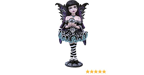 Nemesis Now Figurine Adeline Noir 16 cm Taille 21 cm