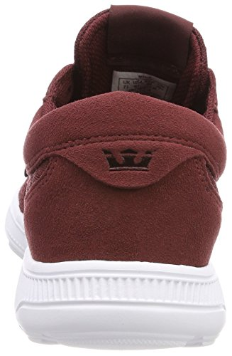 Supra Hammer Run, Sneakers Basses Homme Rouge (Andorra-white)