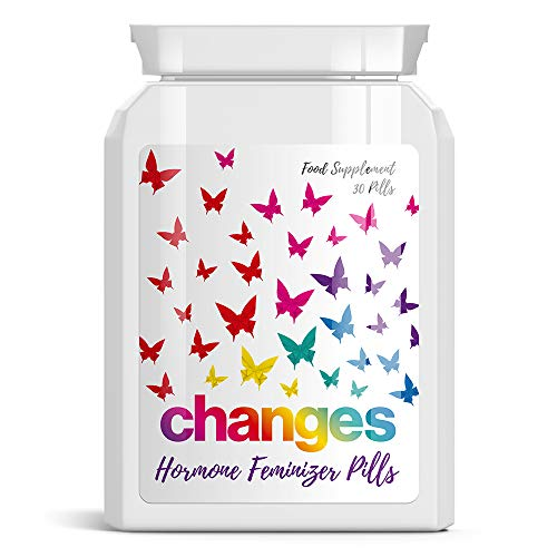CHNGES ÄNDERUNGEN HORMONE FEMINIZER PILLS - TRANSSEXUAL ESTROGEN GROW BOOBS SEXY LGBT