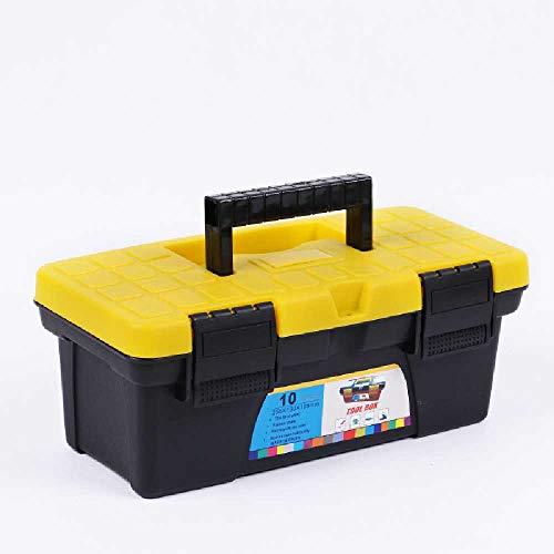 gaox Plastic Toolbox not Afraid to Fall Home car Storage Box Hardware Tool Box Portable Storage Finishing Box -