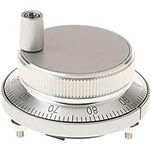 "MagiDeal Cnc Terminal Del Sistema Giratorio Rueda Manual Codificador De Pulso Manual 5v Dc 60mm / 2.36 """