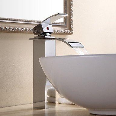 BiuTeFang Wasserhahn| Badarmatur - Waschtischarmatur | centerset altmessing Waschbecken Wasserhahn -