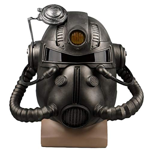 Helm Halloween Show Dress Up Requisiten Horror Mask Spiele Kopf Cosplay Requisiten PVC-Maske,A-OneSize ()