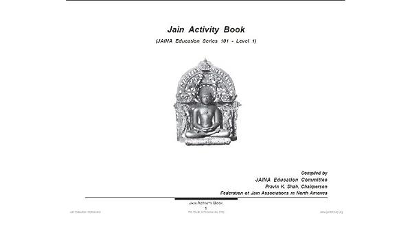 Jain Activity Book Jaina Education Series 101 Ebook Pravin K