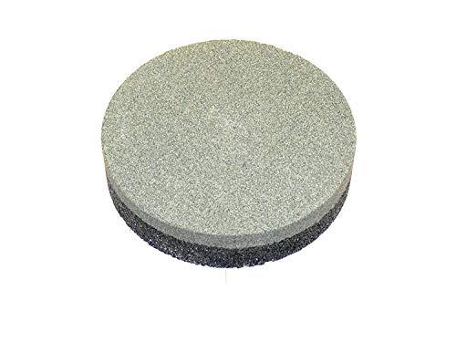 Zische Schleifstein rund kombiniert, Ø130 x 30 mm, FEPA Körnung 80/24, für Beton und Estrich, Rutscher