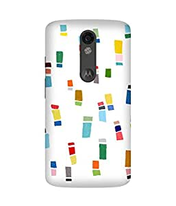 Crayon Colours Motorola Moto X Force Case