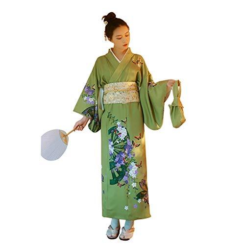Bademantel Kostüm Frauen - LiXiZhong Frauen Kimono Robe Japanisches Kleid Cosplay Kostüm Für Bademantel, Kirschblütenfest, Sommerfest, Feuerwerk, Heiße Quelle (Size : M)