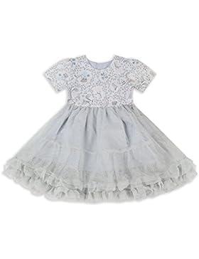 The Essential One - Bebé Infantil Niñas Vestido de Princesa Fiestas Tutu - Plata - EOT612