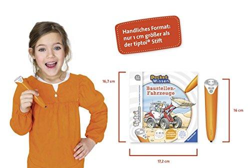 Ravensburger-tiptoi–Buch-4-7-Jahre-Pocket-Wissen-Baustellen-Fahrzeuge-Kinder-Feuerwehr-Auto-Poster-Pocketwissen-tip-toi