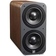 Q Acoustics 3070S - Subwoofer (140W, 50 - 150 Hz, 17 cm, Nuez, 20 cm, 42,5 cm)