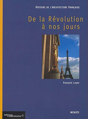 Histoire de l'architecture Française tome III - de la révolution à nos jours