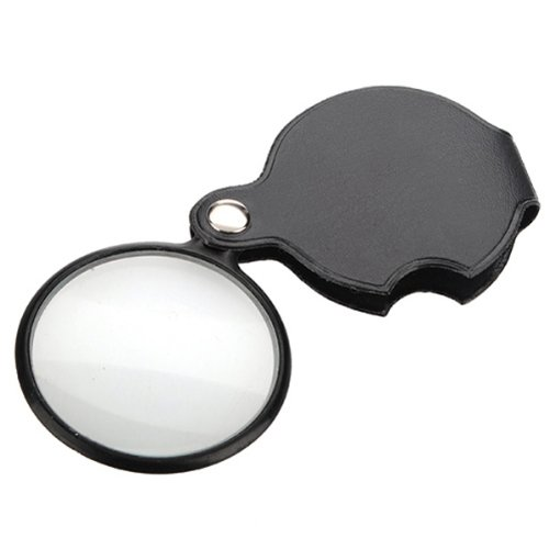 5 Fach Lupe Leselupe Lesehilfe Vergrößerungsglas Handlupe faltbar Uhrmacher-lupe (Stadtpläne Uns)