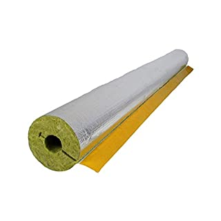 Steinwolle Rohrisolierung alukaschiert 22 x 23 mm 100% ENEV