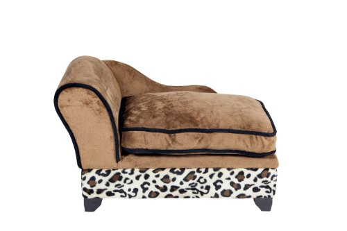 Ultra Plush Storage Bed, Leopard