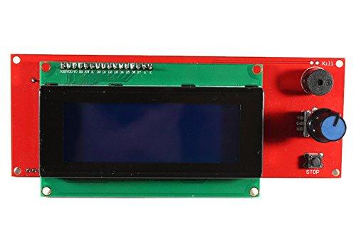 Display-Kit mit 2004 LCD und Controller, Anschlussleitungen und Adapter für RAMPS 1.4, 3D Drucker, Prusa Mendel Lcd-display-controller