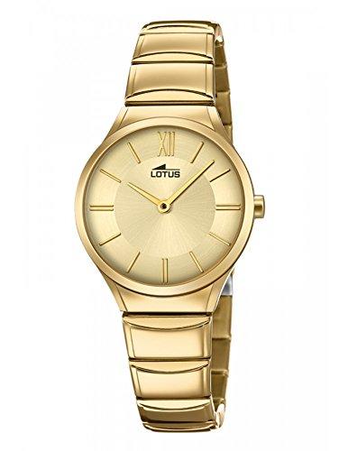 Watch LOTUS Women 18489/2Steel Gold