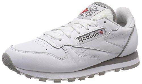Reebok Classic Leather Archive, Zapatillas de Running para Hombre, Blanco (Whitecarbonredgrey 0), 36 EU