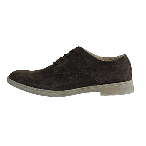 Dude Shoes Men's Volterra Suede Coffee Derby Shoe Brown