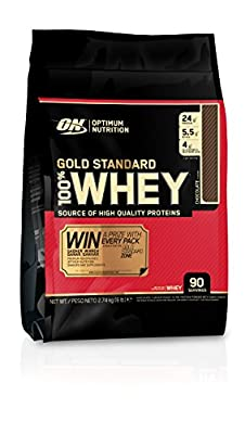 Optimum Nutrition Gold Standard Chocolate Whey Protein, 6 lb from Optimum Nutrition