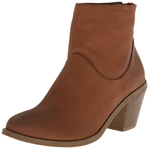 Madden Girl Gleee Boot Cognac