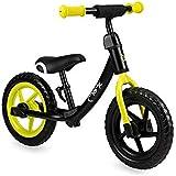 MOMI ROSS balanscykel för flickor och pojkar | Punkteringsäkra skumhjul | Stabil metallram | Justerbar sadelhöjd och styrhöjd