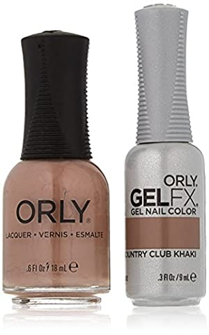 Orly Nail Lack + Gel FX–Perfect Pair Passende Duo–Country Club Khaki