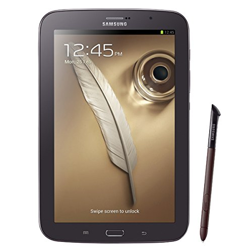 Samsung Galaxy Note 8.0 N5110 Tablet (20,3 cm (8 Zoll) Touchscreen, Cortex A9, 1,6GHz, Quad-Core, 2GB RAM, 16GB Speicher, 5 Megapixel, WiFi, Android 4.1) braun/schwarz Samsung Tablet 8 16 Gb