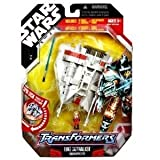 Star Wars Transformers Luke Skywalker / Snowspeeder - 18cm (Actionfigur)