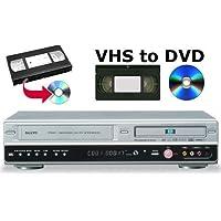 SANYO DVR-V100E DVD Recorder & VHS VCR Recorder Combination *Transfer VHS Tapes to DVD