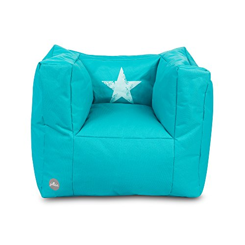 Jollein 028-543-65025 Beanbag Faded star, aqua