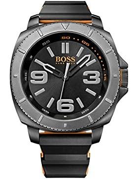 BOSS Orange Herren-Armbanduhr SAO PAULO Analog Quarz Silikon 1513109