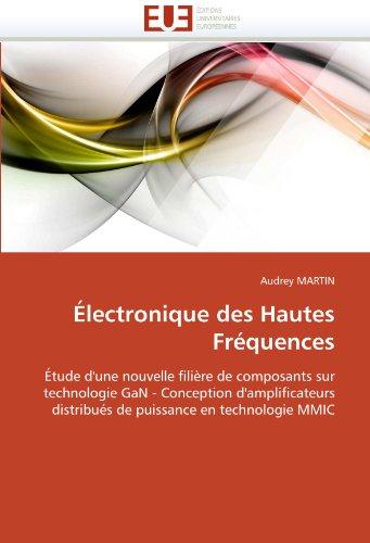 Électronique des hautes fréquences par Audrey MARTIN