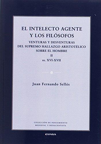 EL INTELECTO AGENTE Y LOS FILOSOFOS II