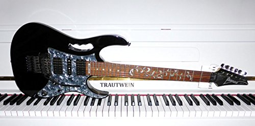Ibanez JEM555 BK Prestige, Steve Vai Signature E-Gitarre - made in Korea