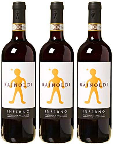 Rainoldi Inferno 2016-3 bottiglie da 750 ml