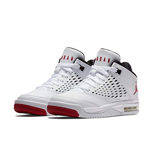Nike 921201 101 Air Jordan Flight Origin 4 (GS) Sneaker Weiss|40 (Flight Jordan Origin-schuhe Jungen)