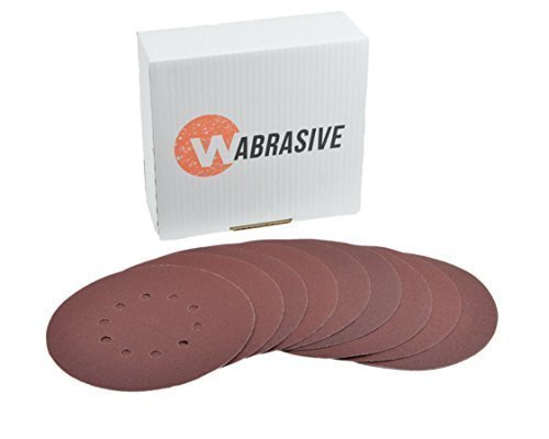 Klett Schleifscheiben 225 mm Ø 10 Stück Körnung 80 K80 von Wabrasive • für Matrix Flex...