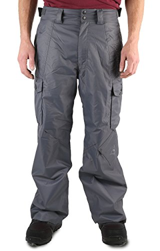 Two Bare Feet Men's Blizzard Snowboard Ski Pants, Rock for sale  Delivered anywhere in UK