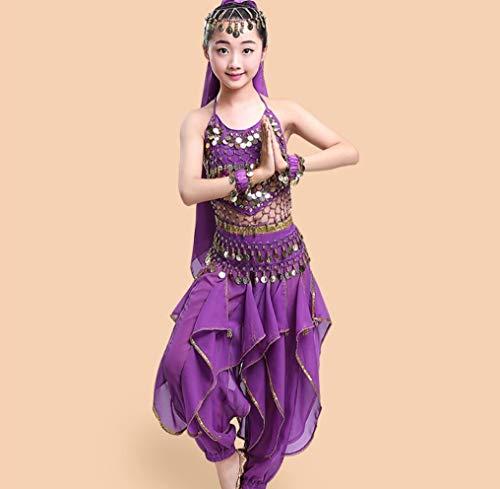 SMACB Kinder indischer Tanz Kostüm Bauchtanz Kostüm Kostüme ()