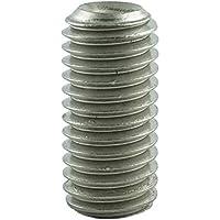 10 Edelstahl Gewindestifte-Maden 3 x 3 V2A DIN 916 Innensechskant Ringschneide