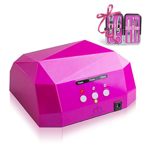 Matrixsight 1 PCS 36W Lámpara LED UV Secador de Uñas Nail Art...