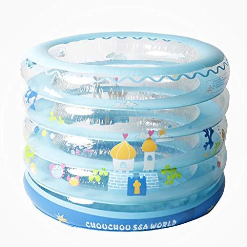 Aufblasbare badewanne für Kinder groß Aufblasbare Badewanne, Kinderpool Faltendes Badefass-Baby-Versorgungsmaterialien 93x70cm