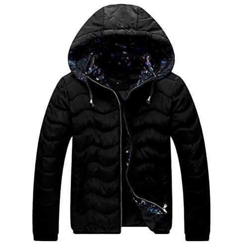 Zhhlinyuan Mens Herren Father's Teenagers Long Sleeve Warm Padded Jacket Jacke Windbreaker Halloween Gift Big Tall Kingsize 9XL (Tall Jacke Kingsize-mens And Big)