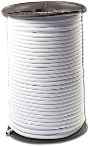Crochets Haute Qualité Monoflex PP 6 mm noir élastique//Sandow Clips