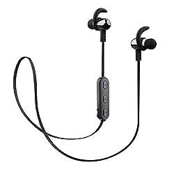 Envent LiveFit ET-BTESM525 in-Ear Sports Wireless Bluetooth Earphones (Grey)