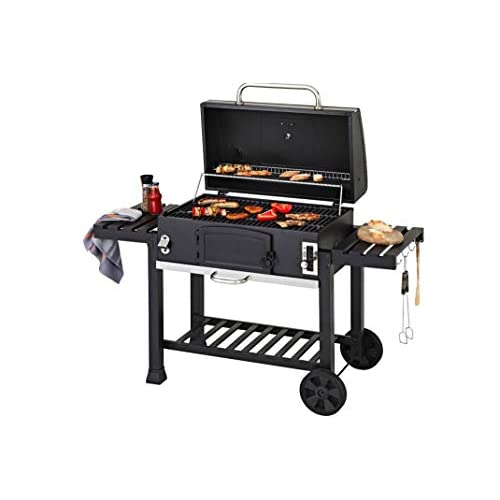 41OUros1%2ByL. SS500  - CosmoGrill Outdoor XXL Smoker Barbecue Charcoal Portable BBQ Grill Garden