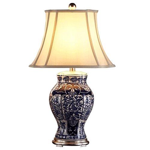 CKH Chinesische Keramik Lampe Schlafzimmer Nachttischlampe Kreative Einfache Moderne Wohnzimmer Hochzeit Hochzeitshotel