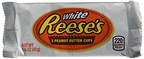 Preisvergleich Produktbild Reeses's Schokotörtchen 2 WHITE PEANUT BUTTER CUPS 4er Set