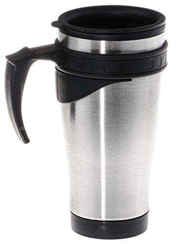 Preisvergleich Produktbild SIDCO Thermobecher Auto Coffee-to-go für Heiß- und Kaltgetränke mit Henkel 450 ml